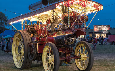 Rempstone steam fair Wymeswold Leicestershire